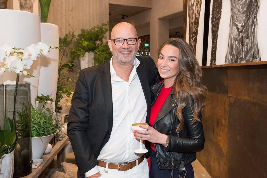 Alex Timmermans en dochter