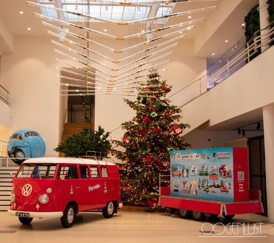 MOVE auto met kerstboom