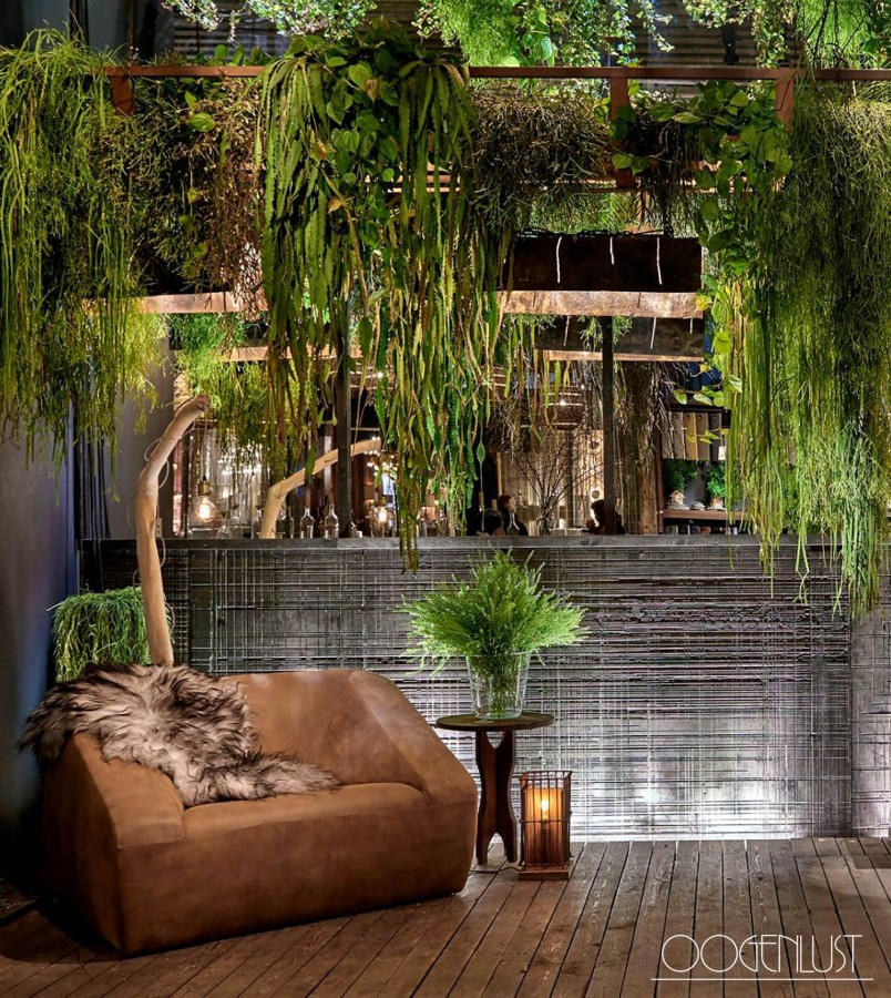 Interieur groenbeleving urban jungle