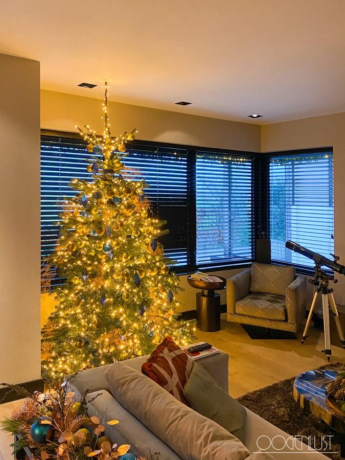 Kerstbom verrekijker