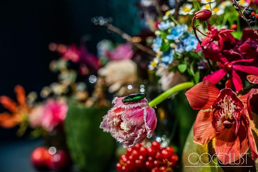 Detail bloemwerk